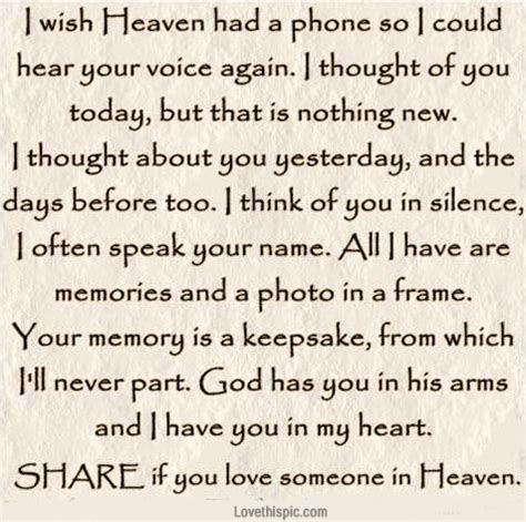 Loved Ones In Heaven Quotes by Gallery For Gt Missing Someone In Heaven Quotes