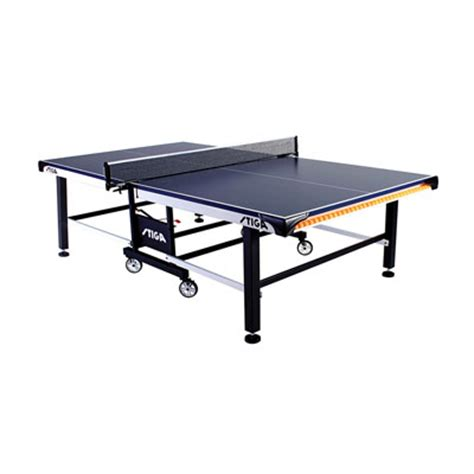franklin sports easy assembly table tennis ping pong table stiga sts 520 all court sports