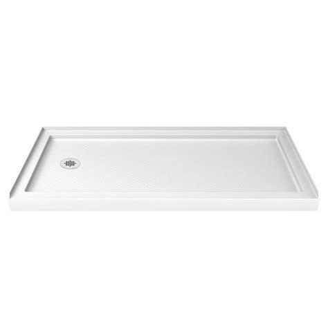 30 X 60 Shower Base by Dreamline Slimline 30 In X 60 In Single Threshold Shower