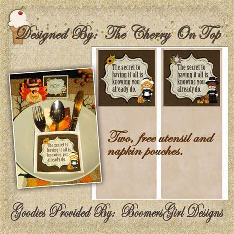 printable christmas utensil holders free utensil holder printable thanksgiving crafts