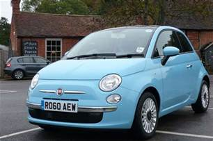 Fiat 500 Baby Blue Fiat 500 Baby Blue And It On