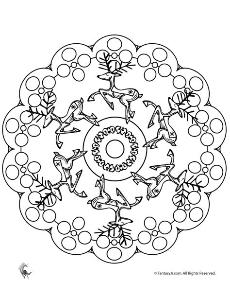 intricate winter coloring pages free coloring pages of intricate christmas