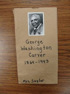 biography bag project biography pinterest bags george washington carver on pinterest peanuts george