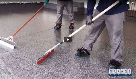 a look inside garage living s floortex garage floor coating process