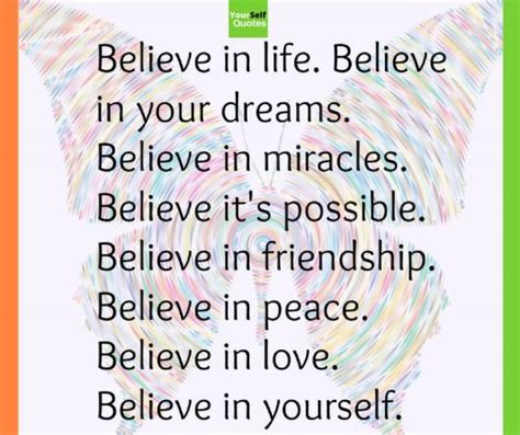 Believe Yourself believe in yourself quotes which helps you to motivate