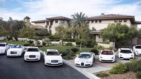 Floyd Mayweather Car Collection And House 2017