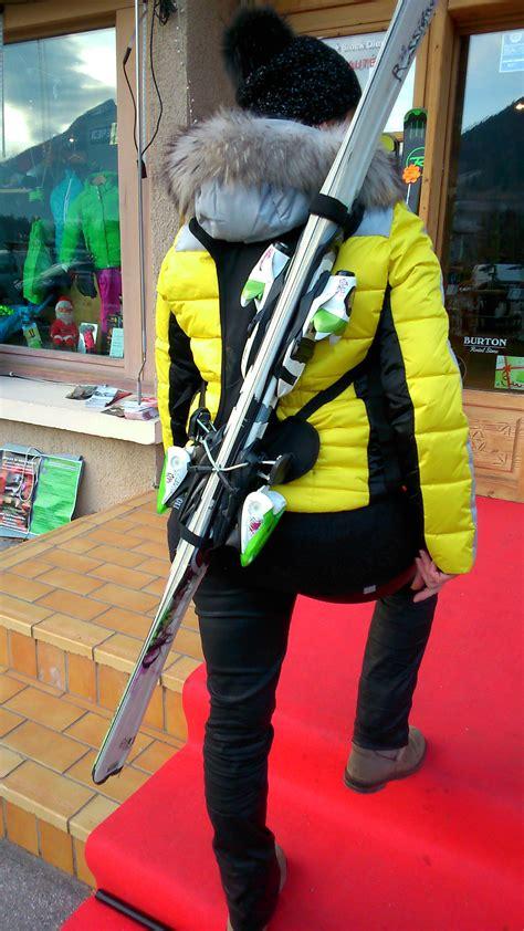 skiss porte ski porte ski dorsal wantalis de poche