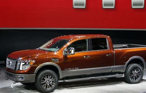 Nissan Diesel Trucks by New Nissan Clean Diesel Truck Unveiled At Detroit Auto