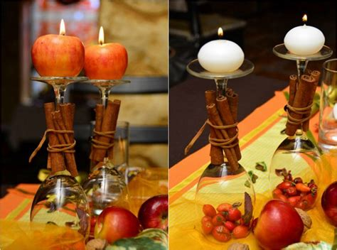 wine glass centerpiece for tables thanksgiving table decorations and diy centerpiece ideas
