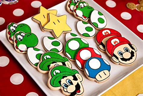 Baby Boy Welcome Home Decorations Mario Themed Birthday Party Guest Feature Celebrations