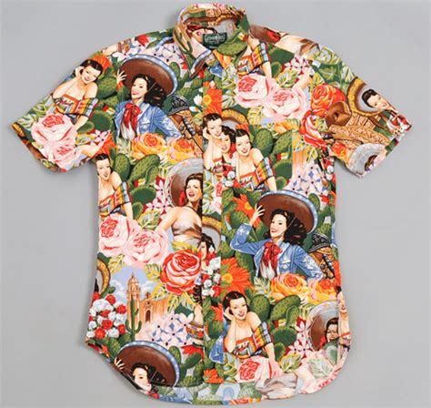 Pin Bros Printing gitman brothers vintage sleeve button collar shirt quot tijuana pinup quot print our