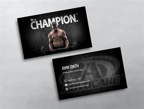 free advocare business card template advocare business card 06