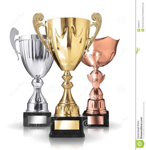imagenes de trofeos vulgares diferente tipo de trofeos foto de archivo imagen 40960477