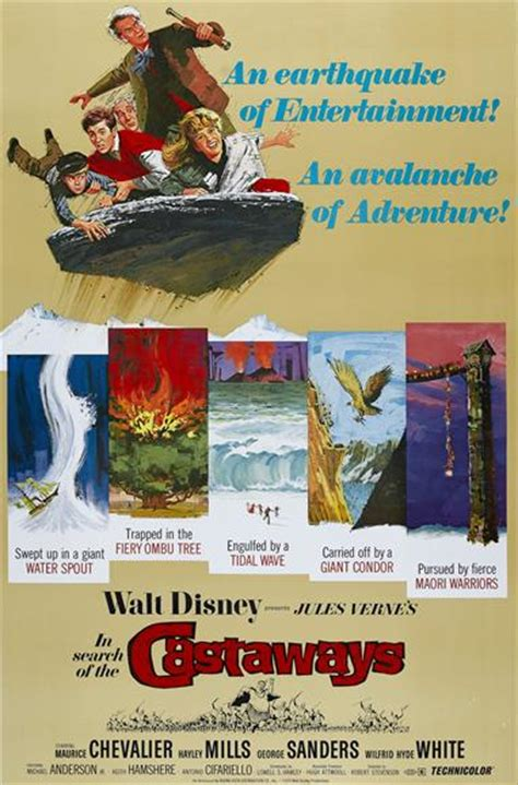 the castaways the disney films in search of the castaways 1962