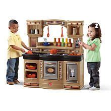 Step 2 Gourmet Kitchen by Step2 Lil Chef S Gourmet Kitchen Neutral Step2 Toys