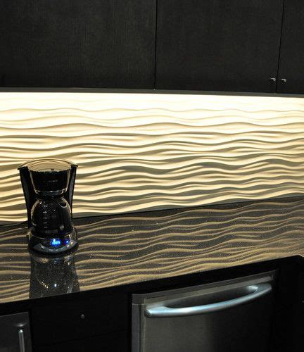 wavy backsplash love this quot dune tile quot porcelanosa or a competitor