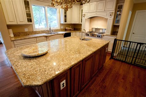 Star Home Decor Golden Beach Granite Kitchen Kitchen Dc Metro By