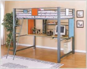 size loft bed with desk plans uncategorized