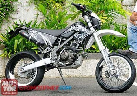 Modifikasi Kawasaki Klx 150 by 15 Gambar Modifikasi Kawasaki Klx 150 Dan D Tracker 150