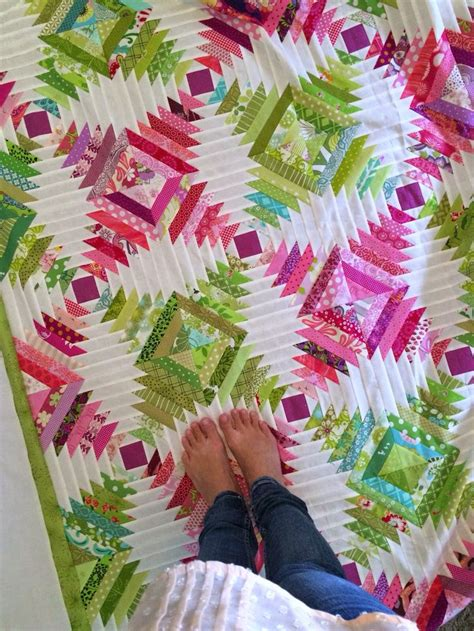 58 best images about log cabin quilt on square