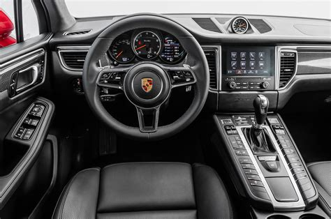 porsche cars interior 2017 porsche macan turbo with performance package