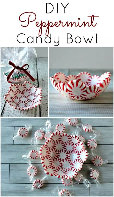 crafts for to make as gifts diy peppermint bowls princess