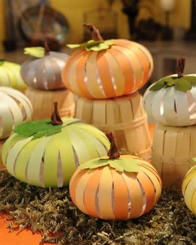 Paper Pumpkins - paper pumpkins step by step diy craft how to s and