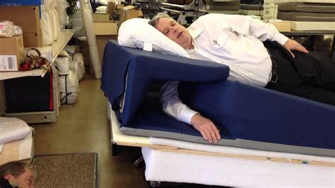 isidesleep king revolutionary adjustable incline bed  shoulder saver side sleeper comfort