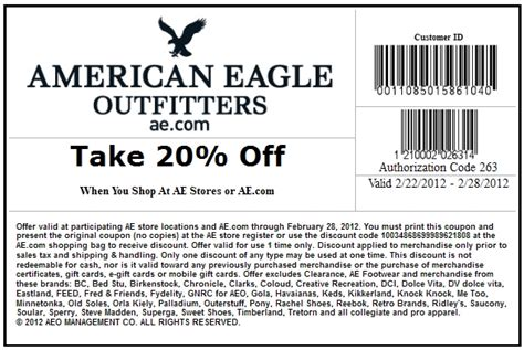 american printable grocery coupons american eagle outfitters printable coupon