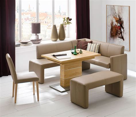 Dining Room Set With Bench by Compact Bench Dining Set Wharfside Luxury Furniture