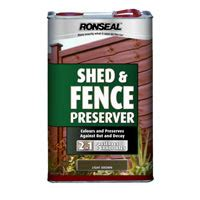 Ronseal Shed And Fence Preserver by Ronseal Shed And Fence Preserver 5l