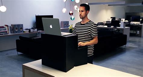 standing portable desk oristand is a portable folding standing desk that costs