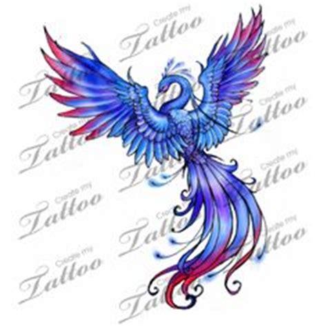 phoenix tattoo purple tattoos on pinterest lower back tattoos cancer tattoos