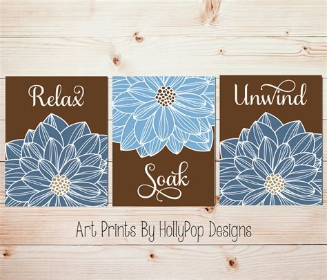 spa artwork for bathrooms bathroom wall blue brown spa bathroom prints bathroom