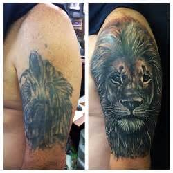 lion cover up tattoo 56 best tattoos images on designs