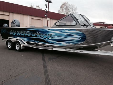 fishing boat wraps designs coho design makes boat graphics and custom vinyl boat wraps