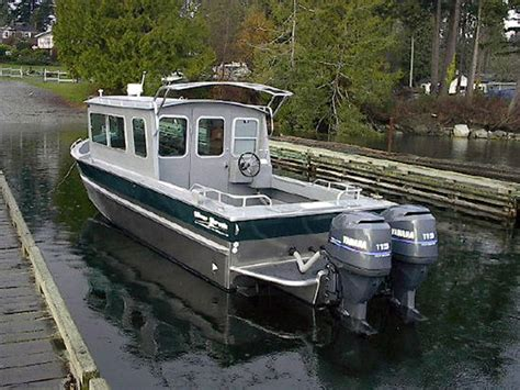 lake cabin boats for sale 25 nitinat aluminum cabin boat by silver streak boats