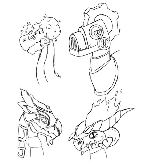 Coloring Pages Dragon Mania Legends | dragon mania legends coloring pages coloring pages