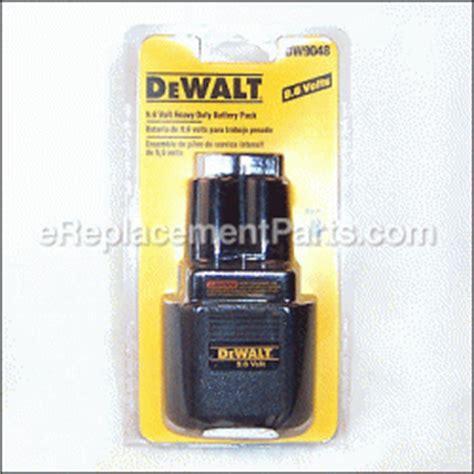 Dewalt 9 6 Volt Battery Ni Cd Univolt Retail Packaging