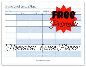 free lesson plan book template blueprints homeschooling ages together meet