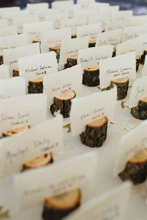 1000 ideas about place card holders on pinterest favors 40 creative wedding escort cards ideas card ideas tree