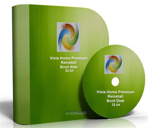 windows vista home premium ed 32 bit reinstall disc
