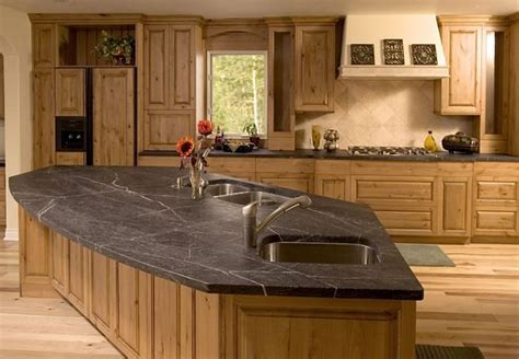Rustic Kitchen Countertops Soapstone Countertop Rustic Kitchen Atlanta By Center