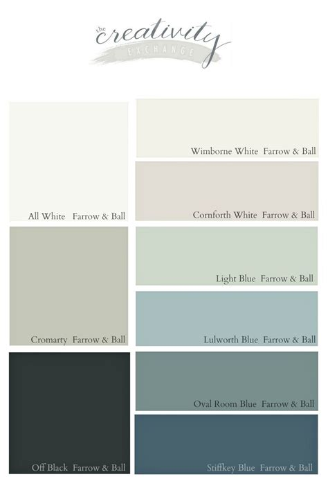 favorite farrow and paint colors