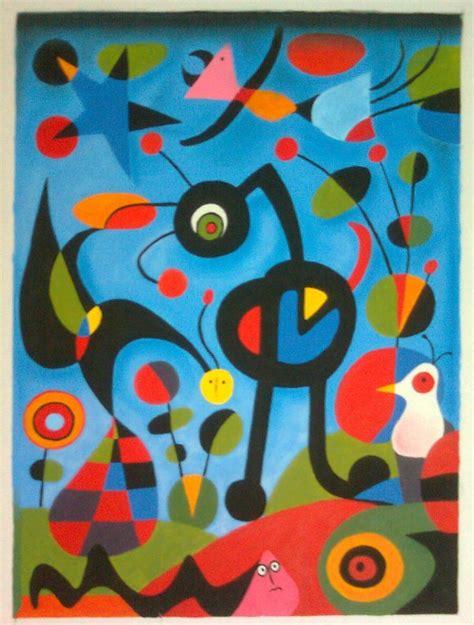 nombres de cuadros de miro cuadros abstractos de miro pictures to pin on