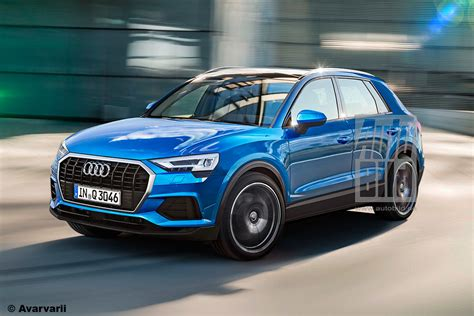 audi q3 new model 2018 mqb based 2018 audi q3 previewed in unofficial german