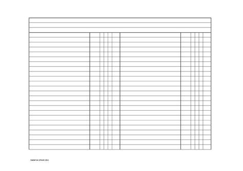 checking account balance sheet template best photos of blank balance sheet template blank