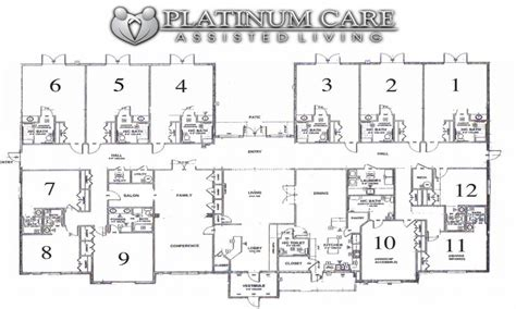 assisted living floor plan assisted living floor plans assisted living room layouts