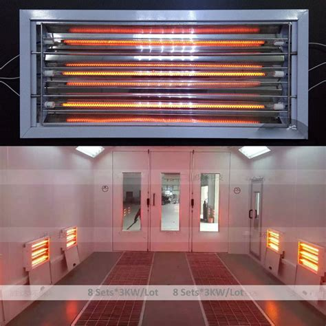 infrared heat ls for spray painting spray baking paint booth oven infrared curing ls