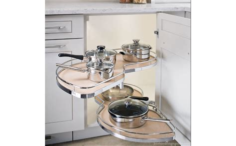 Corner Cabinet Shelf System by A 100 Year Boston Home Kitchen Remodel Boston Design